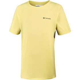 Columbia Silver Ridge II t-shirt Kinderen geel